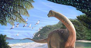 Αιγυπτιακός δεινόσαυρος καλλιτεχνική απεικόνιση, πηγή Andrew McAfee Carnegie Museum of Natural History