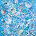 ΚΛΟΥΤΣΙΝΙΩΤΗ ΑΡΕΤΗ, Areti Kloutsinioti ,Ailleurs , 110x80cm Technique mixte sur toile 2015