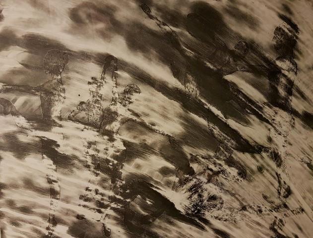 Ειρήνη Ράπτη 70x100 cm χαρακτικό