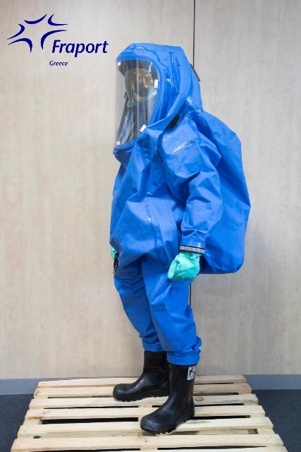 Στολή χημικής προστασίας