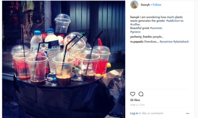 Plastics rubbish