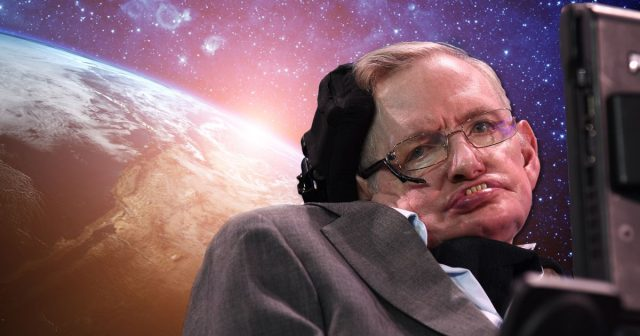 aw stephen hawking earth space