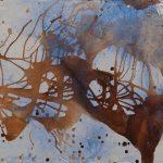 Κατερίνα Ριμπατσιού Katerina Rimpatsiou, Άτιτλο oil on canvas, 50X65cm