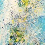 Στεφάνου Μαίρη, Aegean #4, 100x70cm, Ακρυλικά σε καμβά