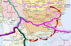 σιδηροδρομικοί σχεδιασμοί προς τα Βαλκάνια