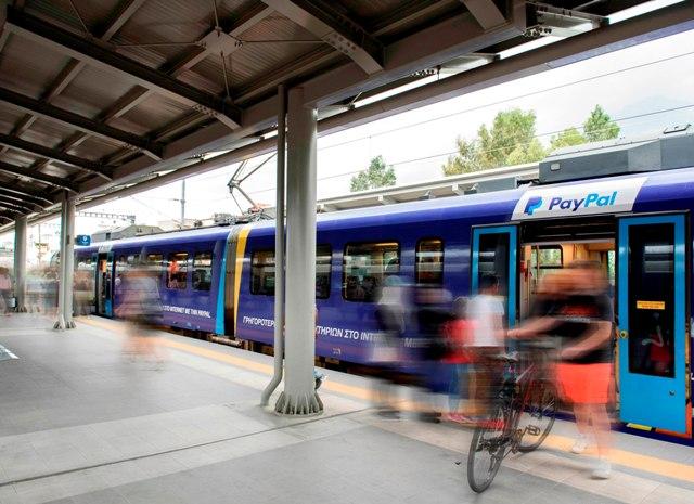 μεταφορές, τρένο