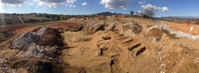 4. Ίσωμα, ρωμαϊκό νεκροταφείο