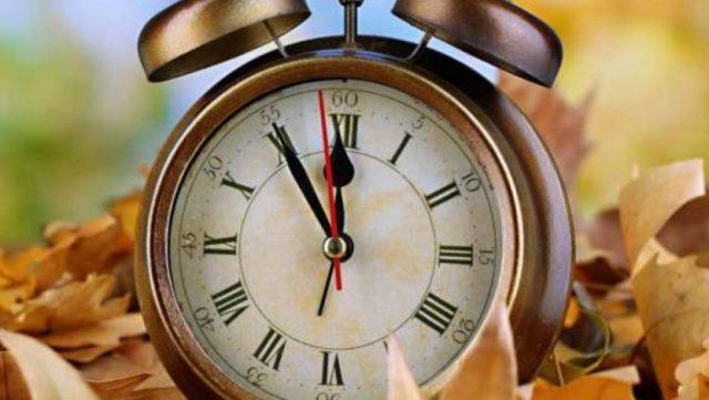 Ρολόι που χρονολογείται στο σκοτεινό μας