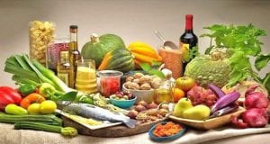 μεσογειακή διατροφή, τρόφιμα