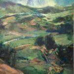 Sofia Stavrou, Stone, 100x70cm, Oil on canvas
