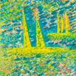 Βαρουξάκη Σαμέλη Ελένη, Colors of life, 75x65cm, Ακρυλικό σε λινό καμβά