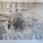 Μπακογιαννάκη Δήμητρα, Ευθύβολος στρόβιλος, 50x80cm, Χαρακτικό