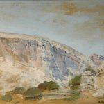 Παπαγιάννη Σύνη, Νταμάρι Ένα ευάλωτο τοπίο, 65x50cm, Λάδι σε καμβά