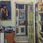 Σταύρου Σοφία, Ευφράδεια χώρου και τέχνης,70x50cm, Λάδι σε καμβά