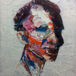 Τζομάκας Γιάννης, Εύνωτος, 40 x 50cm, Aκρυλικά σε καμβά