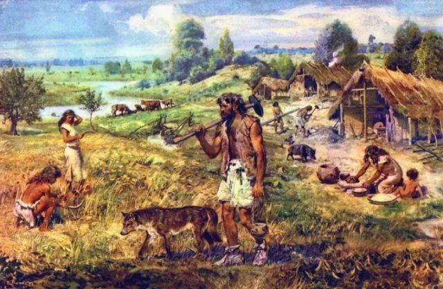 αρχαίοι γεωργοί