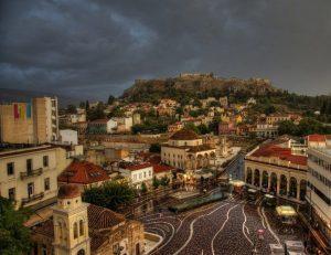 Athens rain / photo by George Bougiakas