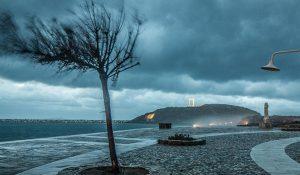 Naxos storm