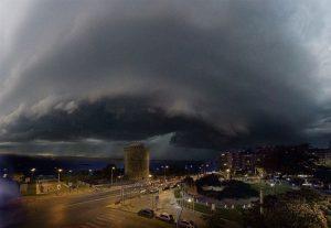 Thessaloniki storm