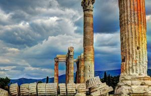 athens clouds