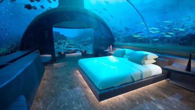 υποβρύχιο ξενοδοχείο