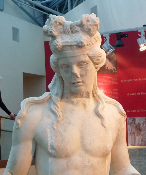 Άγαλμα Διονύσου. Θεσσαλονίκη, 2ος αι. μ.Χ. Αρχαιολογικό Μουσείο Θεσσαλονίκης