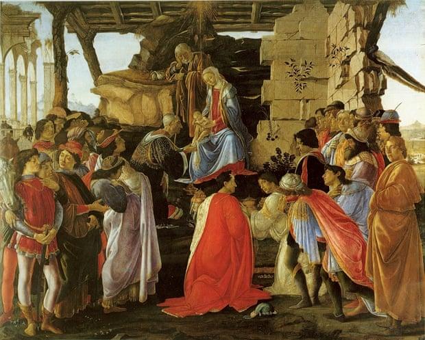 Λατρεία των Μάγων Sandro Botticelli 1475 ή 1476