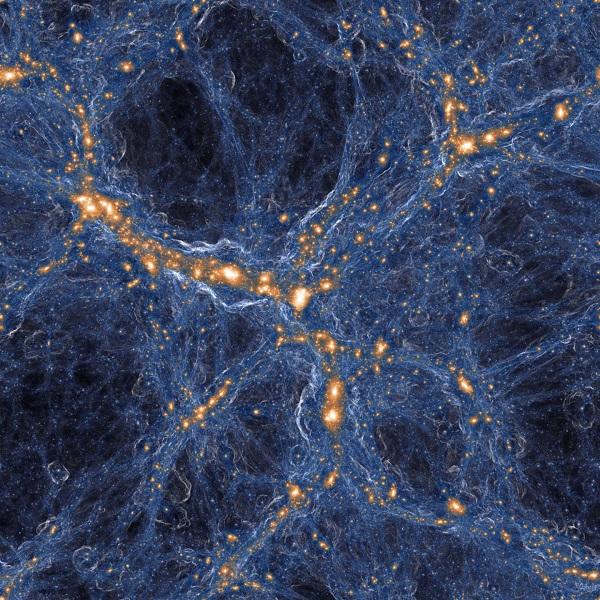 Προσομοίωση γαλαξιών και αερίου στο σύμπαν
