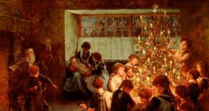 Το χριστουγεννιάτικο δέντρο – Albert Chevallier Tayler – 1911