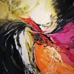 Τριβιζά Μαίρη, Intuition, 120x100cm, Ακρυλικά σε καμβά, 2.000 ευρώ (Large)