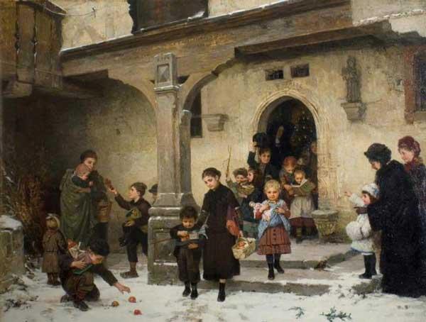 Χριστουγεννιάτικα δώρα Hugo Oehmichen – 1882