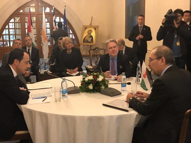 τριμερής με Κύπρο Ιορδανία
