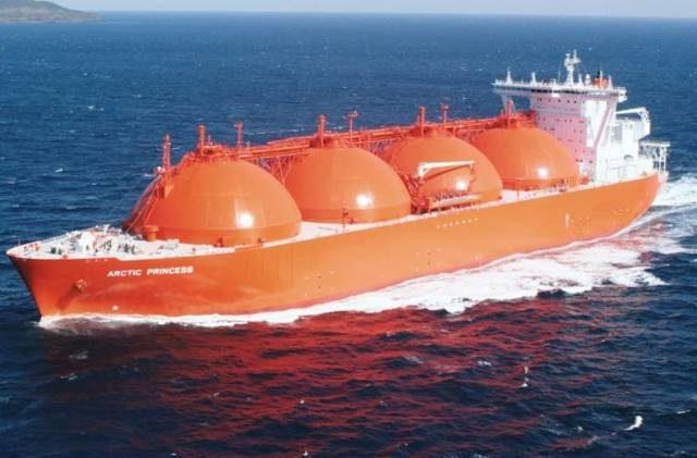υγροποιημένου φυσικού αερίου