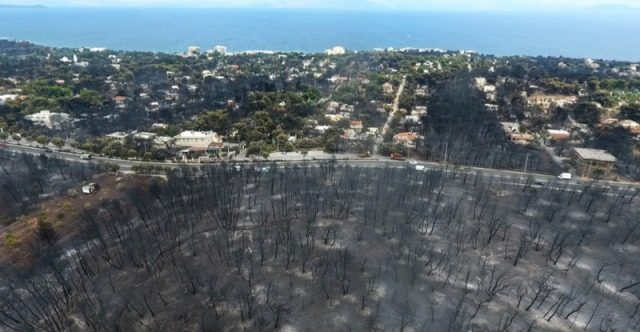 mati wildfires