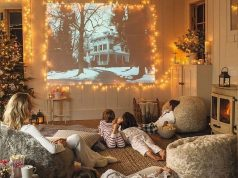 movie night christmas