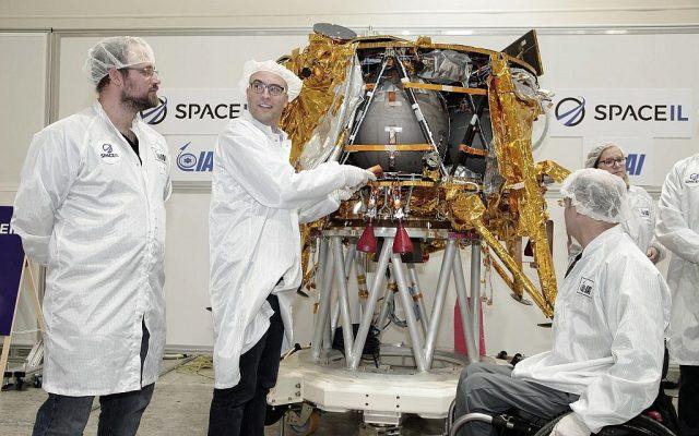 spacecraft 'Beresheet'