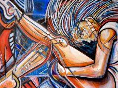 Βαμβακίδη Μαρία, Ευλυγισία, 60x70cm, Λάδι σε καμβά