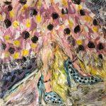 Βλασερού Μαρία, Elegance, 80x80cm, Ακρυλικά σε καμβά