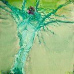 Γκινάκη Αναστασία, Γυναίκα Δέντρο, 100x70cm, Λάδι σε μουσαμά