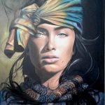 Τζέη Αθηνά, Beauty, 80x60cm, Λάδι σε καμβά