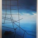 Χαμάκου Ιωάννα, 100x70cm, Λάδι σε καμβά