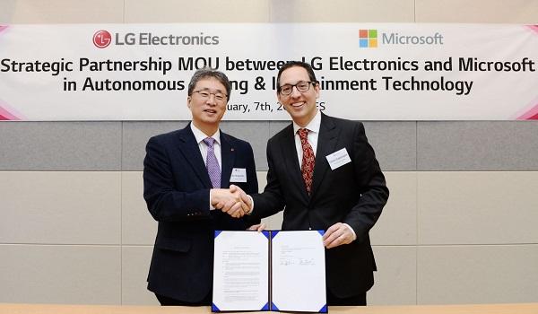 LG Electronics Microsoft