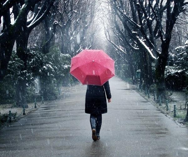 snow & rain