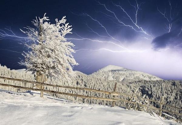 storm snow