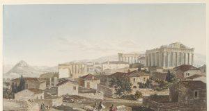 Edward Dodwell (1767 1832), Υδατογραφία του 19ου αιώνα των μνημείων της Ακρόπολης, Συλλογή Μουσείου Μπενάκη