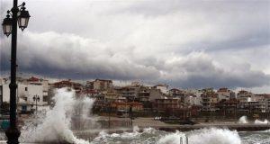 Καιρός, βροχή, καταιγίδα, κύματα, κακοκαιρία
