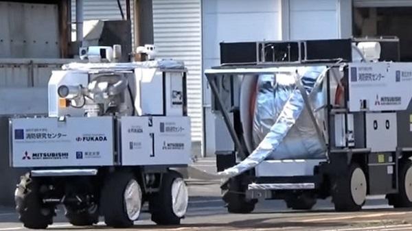 Firefighting Robot System 1