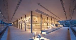 H Αίθουσα του Παρθενώνα © Μουσείο Ακρόπολης. Φωτογραφία Νίκος Δανιηλίδης