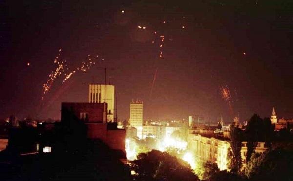 Σερβία βομβαρδισμοί