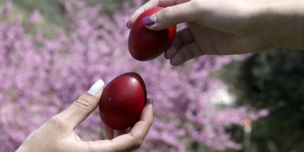 Easter pascha kokkina avga